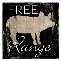 Free Range Pig Fine-Art Print