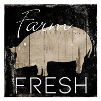Farm Fresh Pig Fine-Art Print