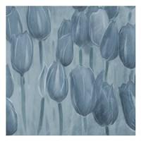 Tulips Patch Blues Fine-Art Print