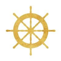 Gold Steering Fine-Art Print