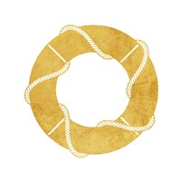Gold Floaty Fine-Art Print
