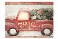 Merry Christmas Truck Fine-Art Print