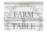 Farm to Table Wreath Fine-Art Print
