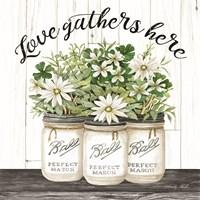 White Jars - Love Gathers Here Fine-Art Print