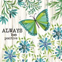 Always Be Positive Fine-Art Print