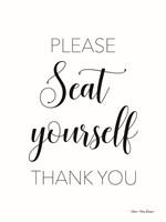Please Seat Yourself Fine-Art Print