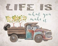 Life Is What You Make It Fine-Art Print