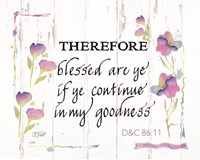 Continue in My Goodness Fine-Art Print