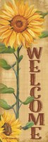 Welcome Sunflower Fine-Art Print