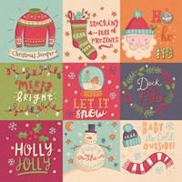 Christmas Squares Fine-Art Print