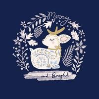 Ornamental Deer Fine-Art Print