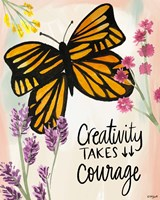 Creativity Takes Courage Fine-Art Print