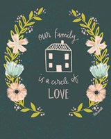 Our Family is a Circle of Love Fine-Art Print