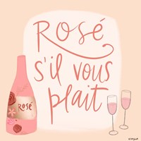Rose s'il Vous Plait Fine-Art Print