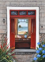 Beach House Entry Fine-Art Print