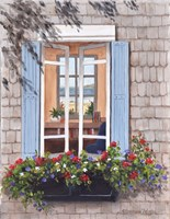 Beach House Window Fine-Art Print
