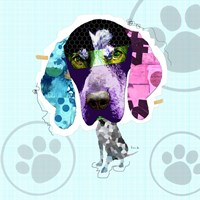 Bluetick Coonhound Fine-Art Print