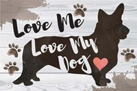 Love Me, Love My Dog Fine-Art Print