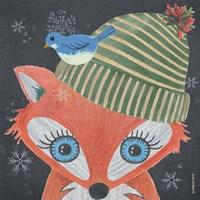 Christmas Fox Fine-Art Print
