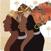 African Men and Women Fine-Art Print