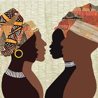 African Men and Women III Fine-Art Print