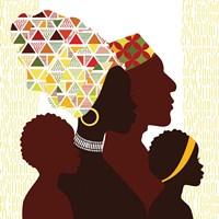 African Family Fine-Art Print