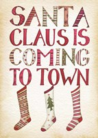 Santa Claus is Coming to Town Fine-Art Print