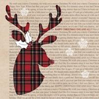 Plaid Reindeer Fine-Art Print