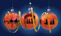 Nativity Ornaments Fine-Art Print