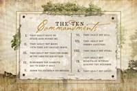 10 Commandments Fine-Art Print