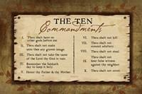 10 Commandments II Fine-Art Print