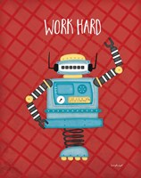 Work Bot Fine-Art Print
