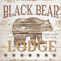 Black Bear Lodge Fine-Art Print