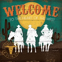 Welcome to the Heart of the West Fine-Art Print