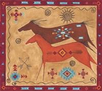 Desert Horses Fine-Art Print