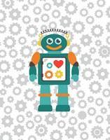 Robot V Fine-Art Print