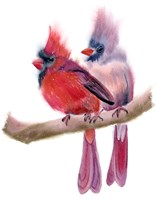 Cardinal Couple Fine-Art Print