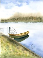 Boat on the Water Fine-Art Print