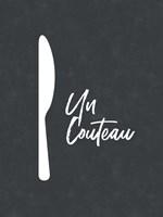 French Knife Fine-Art Print