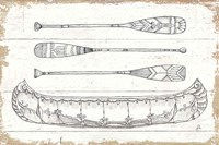 Lake Sketches I Fine-Art Print