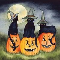 Haunting Halloween Night II No Border Fine-Art Print