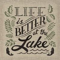Lake Life I Color Fine-Art Print
