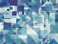 Try Angles II Blue Fine-Art Print