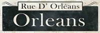 French Quarter Sign II Fine-Art Print