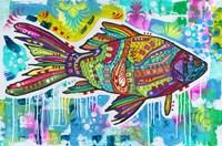 Electric Goldfish Fine-Art Print