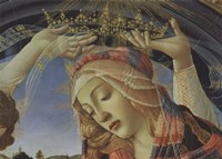 Madonna of the Magnificat (detail) Fine-Art Print