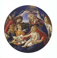 Madonna of the Magnificat Fine-Art Print