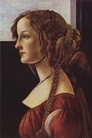 Portrait of Simonetta Vespucci Fine-Art Print