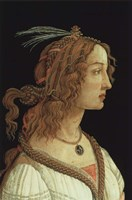 Portrait of a Young Woman, 1485 Fine-Art Print