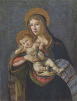 Madonna and Child with the Crown of Thorns and Three Nails Fine-Art Print